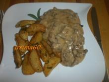Geschnetzeltes an Salbei-Kartoffeln - Rezept