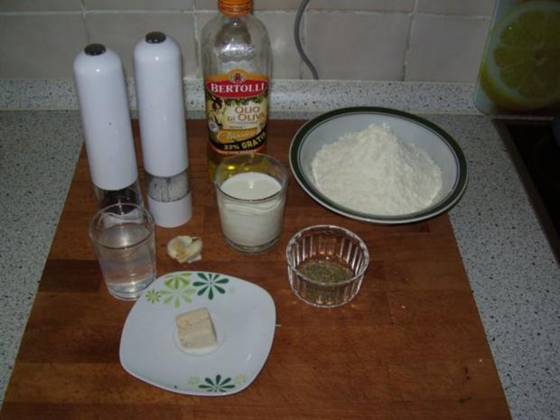Hefebrot mit Kräutern und Knoblauch - Rezept - Bild Nr. 2