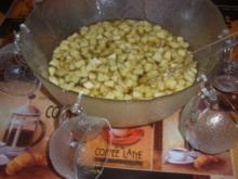 Apfel-Minz Bowle - Rezept