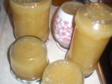 Kokos-Ananas-Limetten Marmelade - Rezept