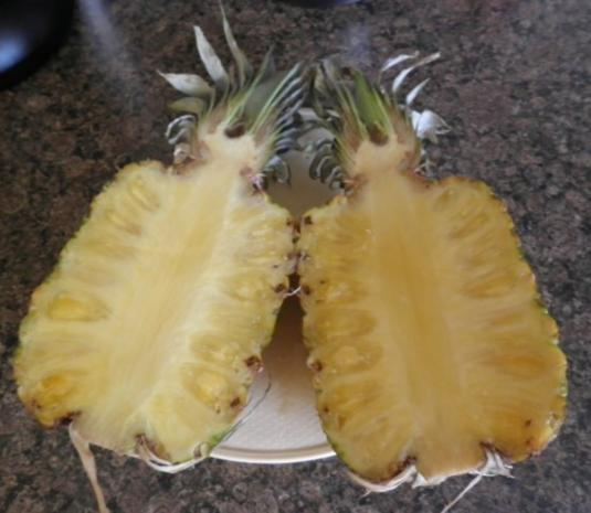 Ananas - Eis ... - Rezept - Bild Nr. 4
