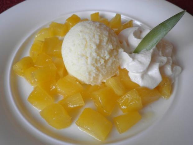 Ananas - Eis ... - Rezept - Bild Nr. 13