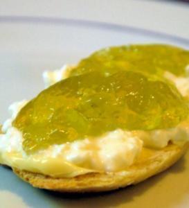 Basilikum-Gelee - Rezept
