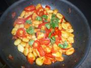 Tomatisierte Gnocchi - Rezept