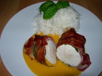 Hühnerbrust in Mangosauce - Rezept