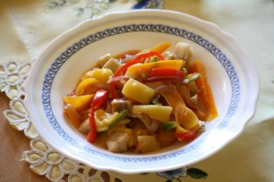 Kabeljau mit Mango - Rezept