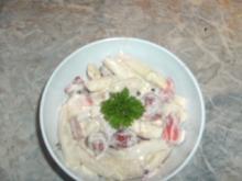 Asperge-fraise-salade - Rezept