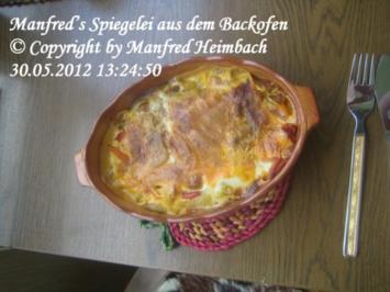 Eier – Manfred's Backofeneier - Rezept