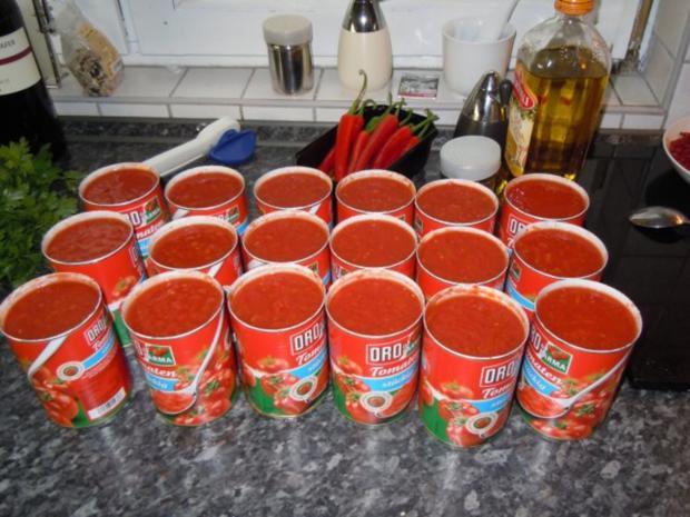 Italienische Tomatensauce - Rezept - Bild Nr. 5