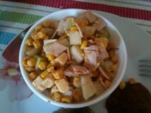 Kohlrabi- Käse- Salat - Rezept