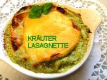 Ital. Kräuter-Lasagnette mit Soffritto und AURICCHIO - Rezept