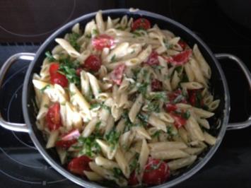 Penne mit Saint Agur zum Kochen - Rezept