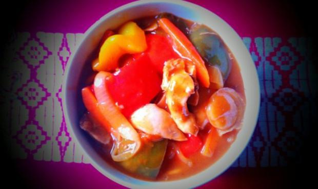 Chinesisch Huhn Süß-Sauer - Rezept - Bild Nr. 2