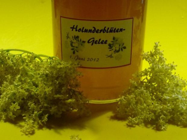 Holunderblüten-Gelee - Rezept - Bild Nr. 4