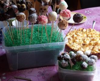 """Schoko Cake Pops """"Light-Variante"""" - Rezept"""