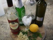Getränke: Hugo wird rot - Rezept