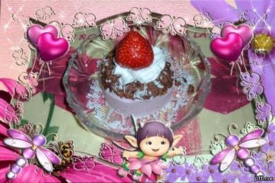 Eis : Erdbeer - Kokosmilch - Rezept