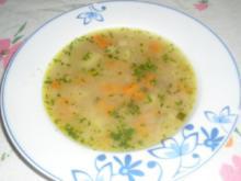 Gemüsesuppe auf Hausfrauenart - Rezept