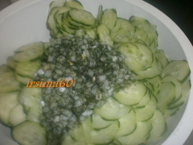 Gurkensalat eingekocht - Rezept - Bild Nr. 5