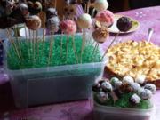 """Zitronen-Quark Cake Pops """"Light-Variante"""" - Rezept"""