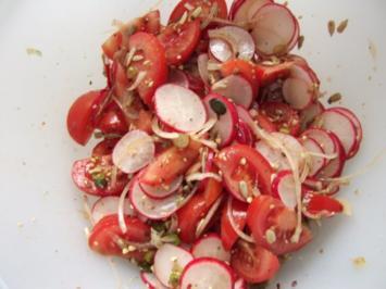 Rezept: Schneller Salat Dieter´s Art
