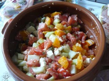 Melonensalat nach Constanze - Rezept