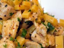 Geflügel-Käse-Salat - Rezept