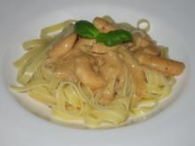Pasta mit Scampi - Rezept
