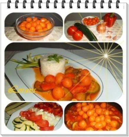 ❀ Buntes Gemüse und Risotto Reistürmchen dazu ❀ - Rezept - Bild Nr. 11
