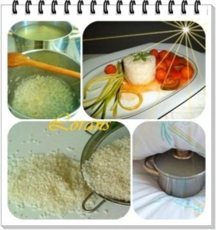 ❀ Buntes Gemüse und Risotto Reistürmchen dazu ❀ - Rezept - Bild Nr. 9
