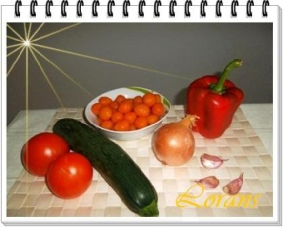 ❀ Buntes Gemüse und Risotto Reistürmchen dazu ❀ - Rezept - Bild Nr. 4