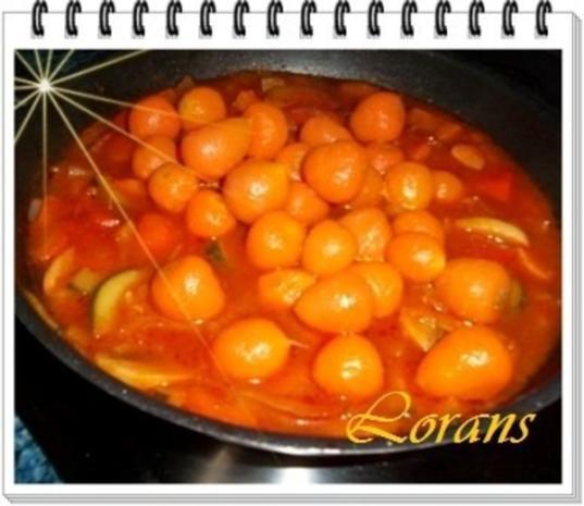 ❀ Buntes Gemüse und Risotto Reistürmchen dazu ❀ - Rezept - Bild Nr. 6