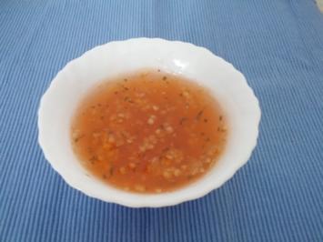 Stachelbeer trifft Minze - Rezept