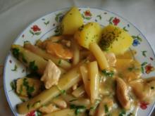 Hähnchenfilet in Spargelsosse - Rezept