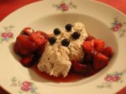 Mascarpone Ciocolata   Erdbeeren   Waldmeister - Rezept