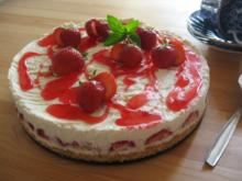 Erdbeer - Frischkäse - Torte - Rezept