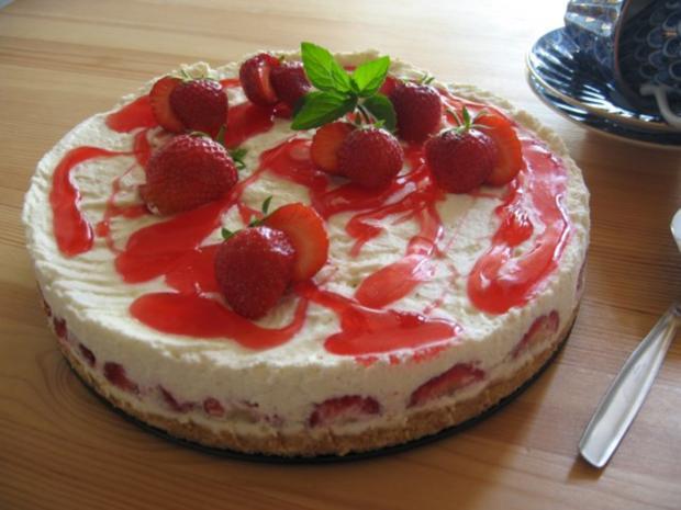 Erdbeer Frischkase Torte Rezept Mit Bild Kochbar De
