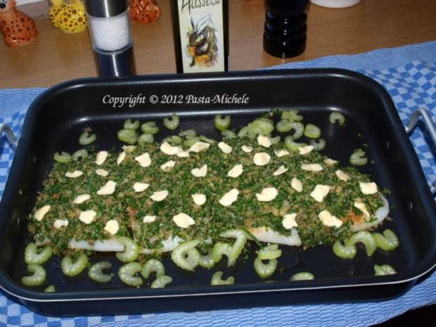 Filets vom schwarzen Heilbutt mit Kräuterkruste - Rezept - Bild Nr. 3