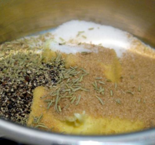 Karamellisierter Zwiebelkuchen - Rezept - Bild Nr. 3