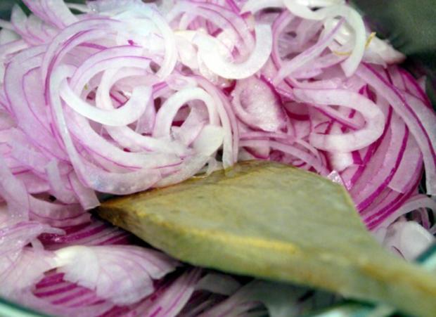 Karamellisierter Zwiebelkuchen - Rezept - Bild Nr. 4