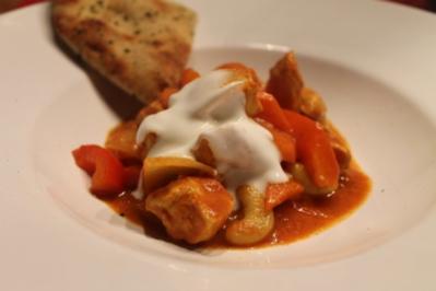 Indisches Curry mit Hühnchen - Rezept