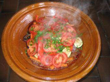 Rezept: Tajine mit Lamm und Gemüse