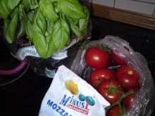 Tomate-Mozzarella-Teller - Rezept