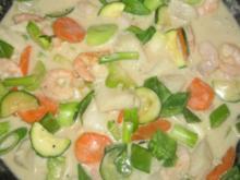 Grünes Fischcurry - Rezept