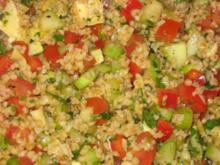 Tabouleh (libanesischer Bulgursalat) - Rezept