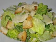 Caesar salad - Rezept