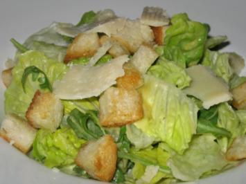 Rezept: Caesar salad