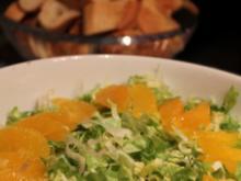 Endiviensalat mit Orangen - Rezept