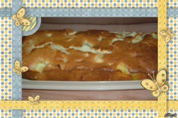 Kuchen : Apfel - Ananas - Rezept - Bild Nr. 2