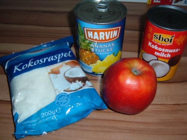 Kuchen : Apfel - Ananas - Rezept - Bild Nr. 4